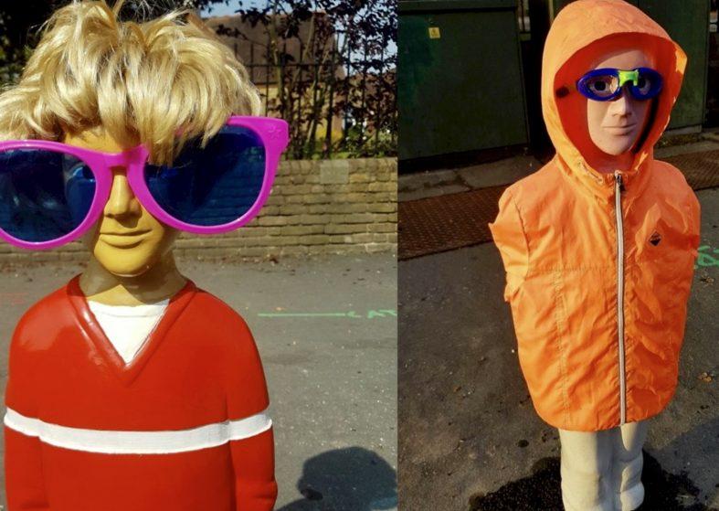 Child Shaped Bollards to Deter Speeding