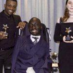 Award winner: Isaac Harvey with runner ups