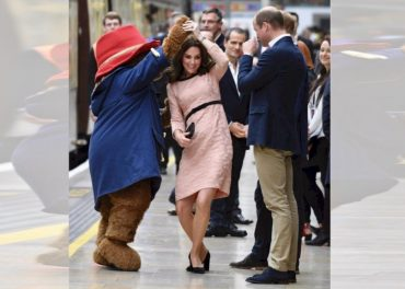 Paddington Bear Duchess of Cambridge Dance