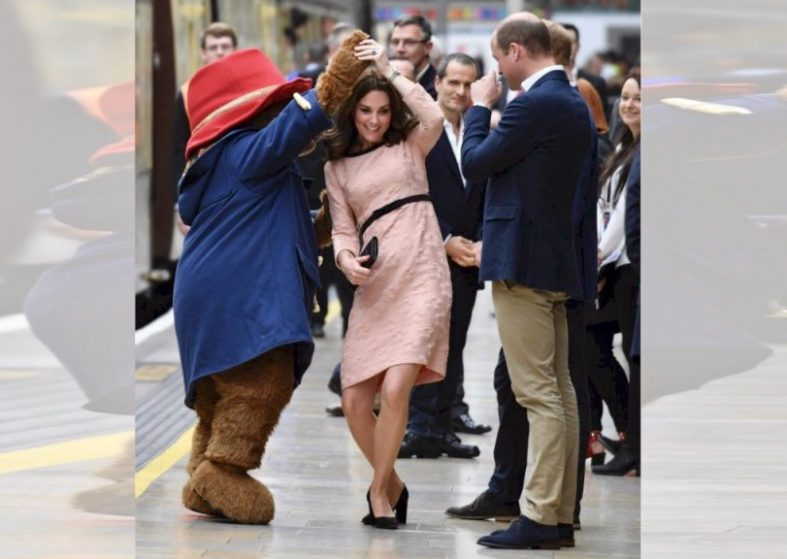 Paddington Bear Duchess of Cambridge Dance