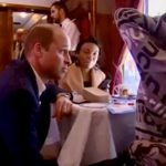 Prince William chats with kids