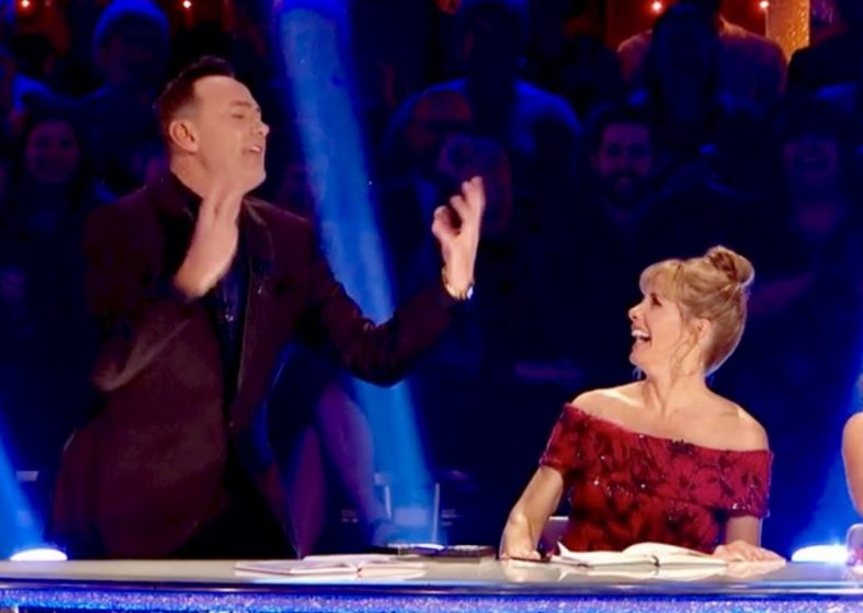 Craig Revel Horwood Impersonates co-judge Bruno