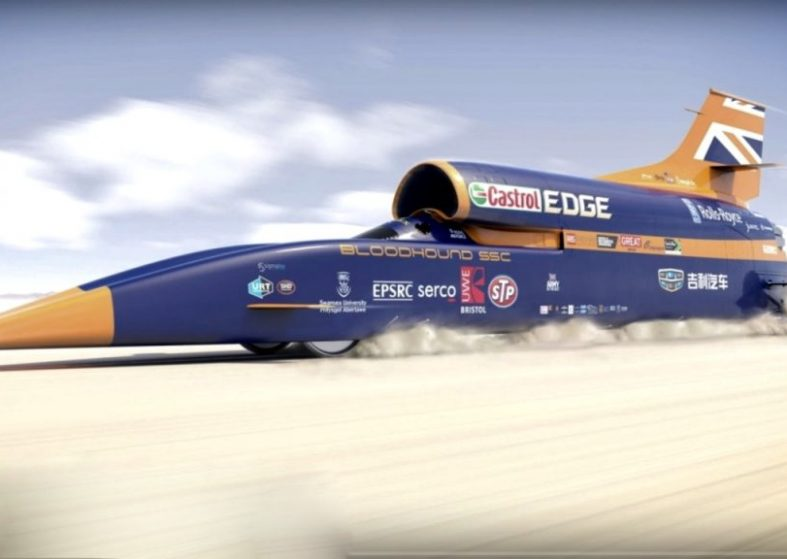 Bloodhound is Go - Newquay