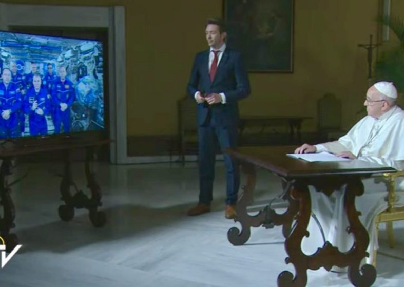 Pope Calls International Space Station Vatican