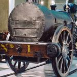 Stephenson's Rocket In Great Exhibition of the North