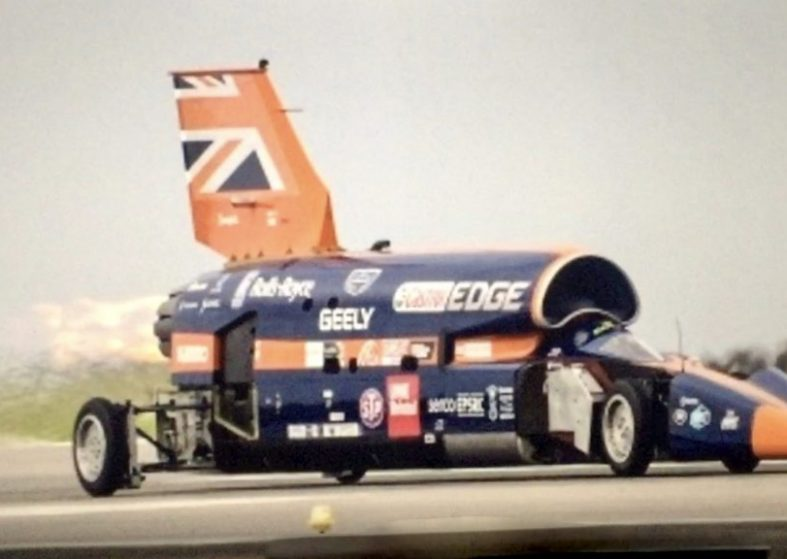 Bloodhound Supersonic First Public Tests