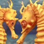 Seahorse Cake Highlights Dangers of Sea Pollution