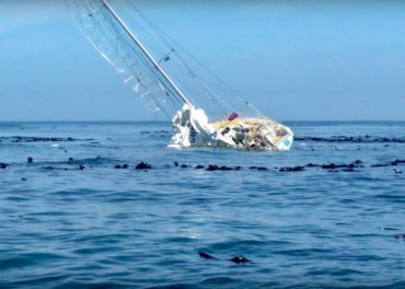 aground off Cape of South Africa