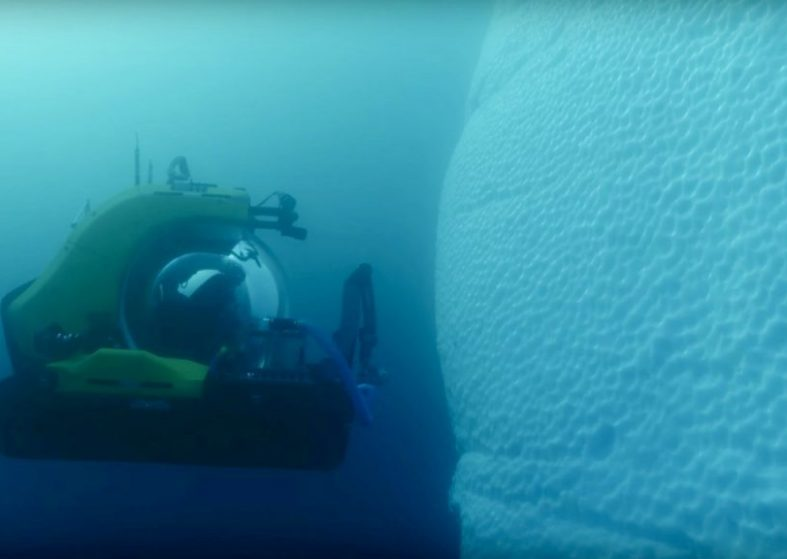 Pioneering Scientist Journeys 1000m Deep In Antarctica