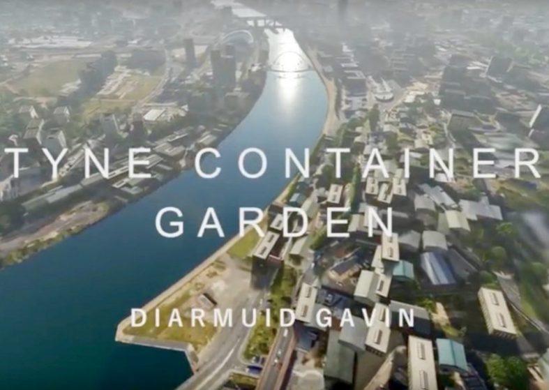 Urban Garden - Gateshead Quayside