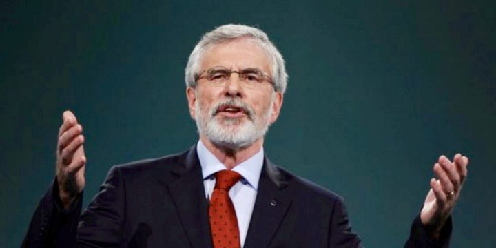 Gerry Adams Stands Down as Sinn Féin Leader 2018