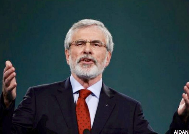 Gerry Adams Stands Down as Sinn Féin Leader 2018