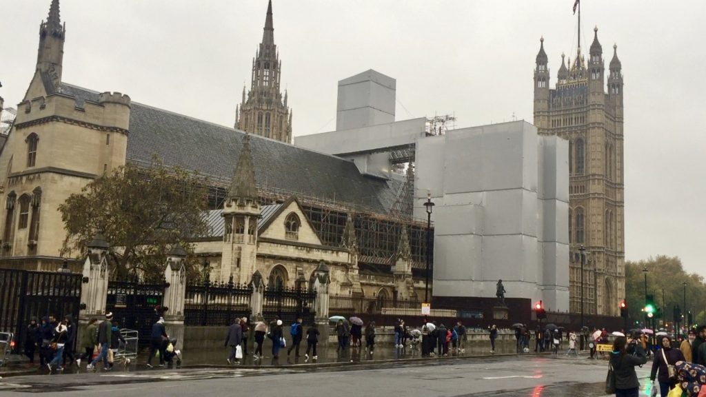Parliament Wrapped in Steel