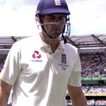 Alastair Cook defeated