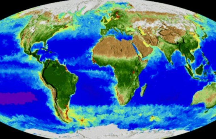 NASA 20 Years Climate Change