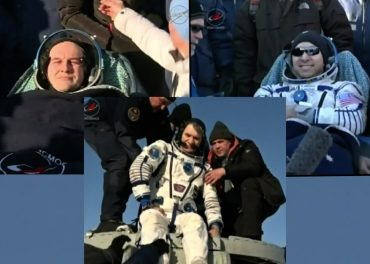LIVE Astronaut Paolo Nespoli Returns to Earth