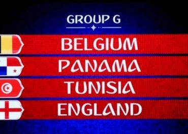 World Cup: England Face, Belgium, Panama, Tunisia