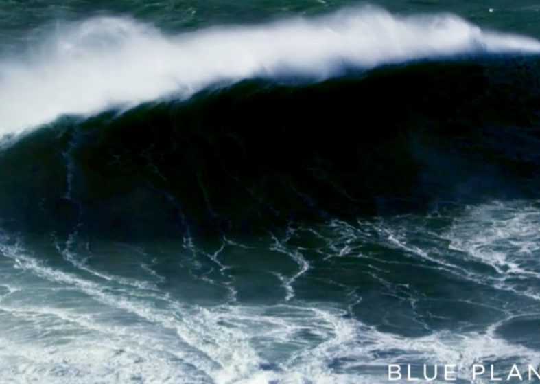 Blue Planet II - Filming Giants Waves in Portugal