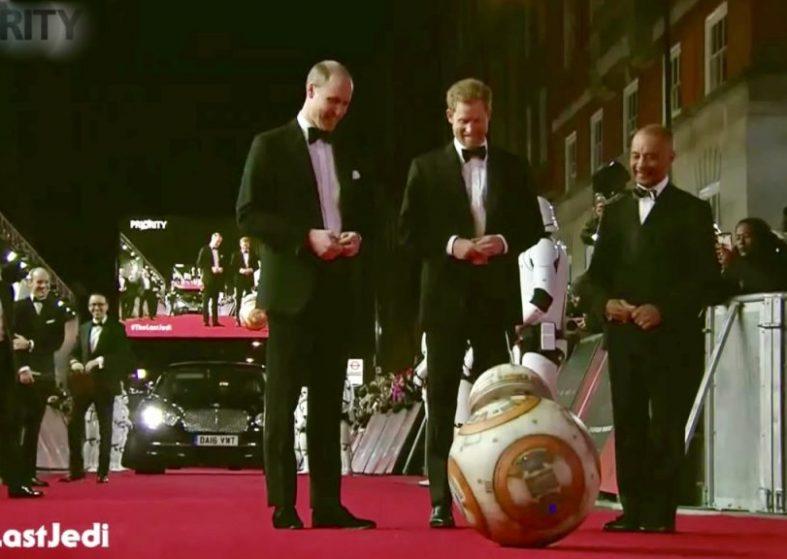 LIVE Star Wars:The Last Jedi Premiere