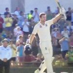 Dawid Malan huge applause from fans