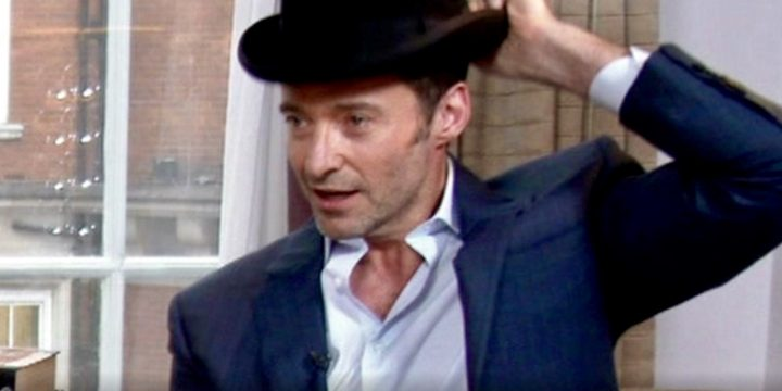 Hugh Jackman's Top Hat Trick