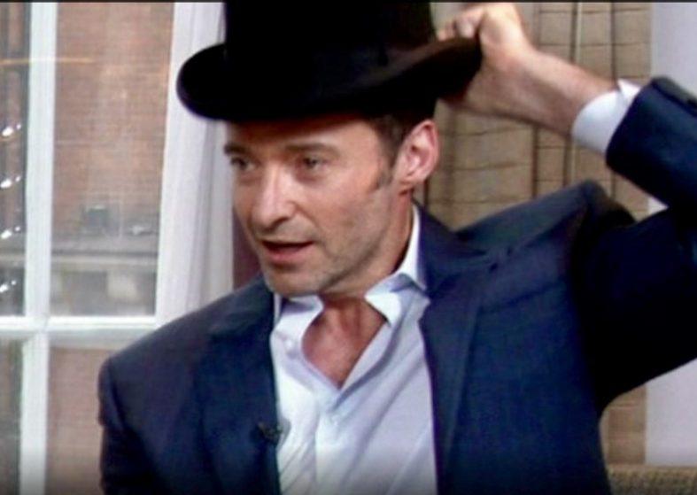 Hugh Jackman's Top Hat Trick