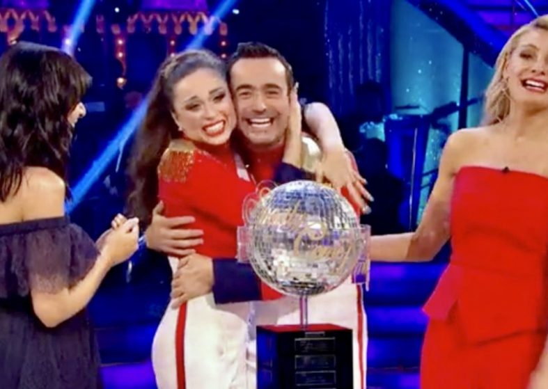 Winners Joe and Katya