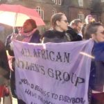 protest to end violence against sex workers