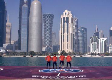 Floating Football Pitch Qatar