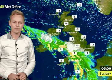 Weather: Saturday Afternoon Forecast