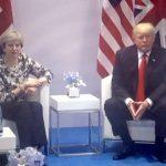 Theresa May - Donald Trump