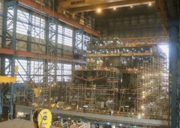 Construction Update RRS Sir David Attenborough