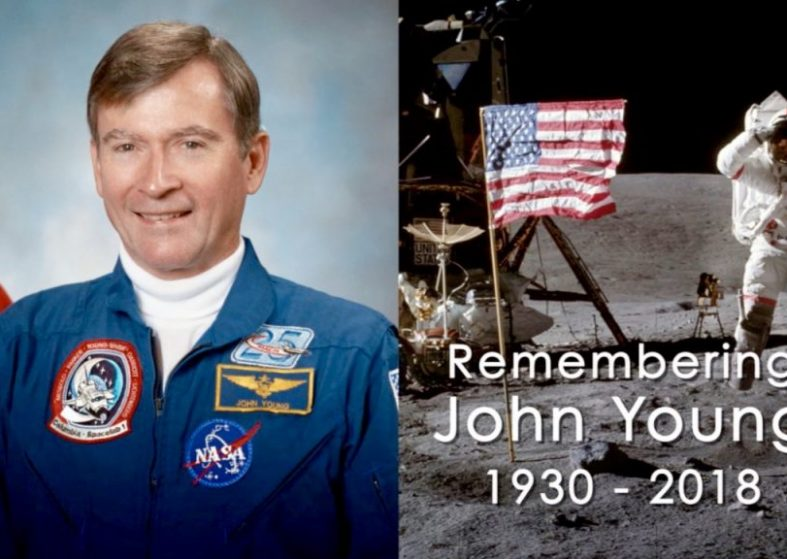 NASA Remembers John Young - Moonwalker Shuttle Commander