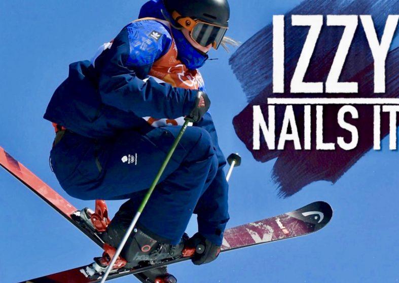 Winter Olympics: Izzy Nails It