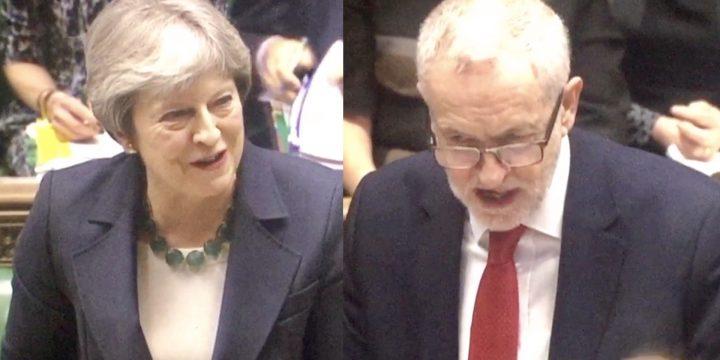 PMQs Brexit: Corbyn Tackles PM