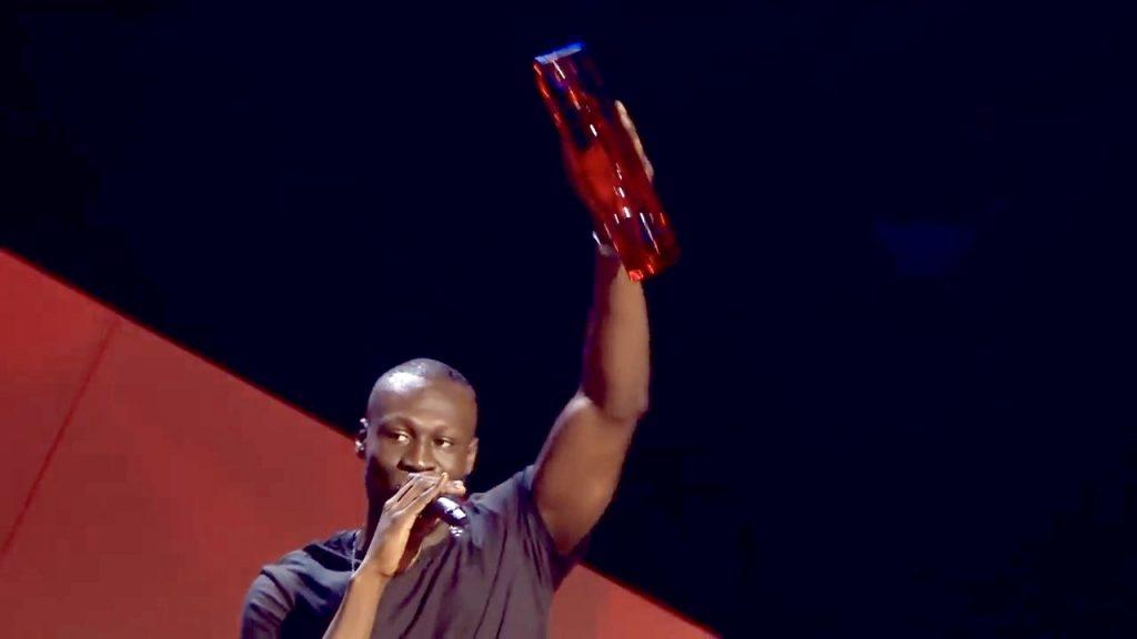Brit Awards 2018 - STORMZY Wins