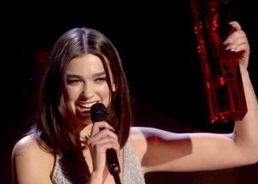 Brit Awards 2018 - Dua Lipa Wins Two Prizes