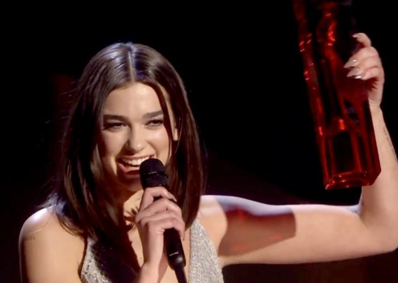 Brit Awards 2018 - Dua Lipa Wins Two Prizes