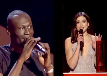 Brit Awards 2018 - Stormzy and Dua Lupa