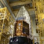 Aeolus preparing for launch