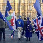 anti-Brexit protestors