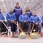 Paralympics curling team