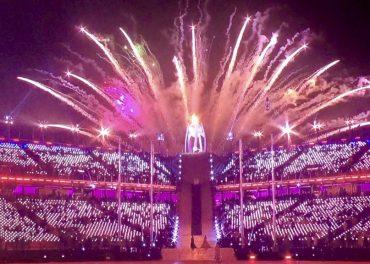 Winter Paralympics 2018: Lighting the Caldron