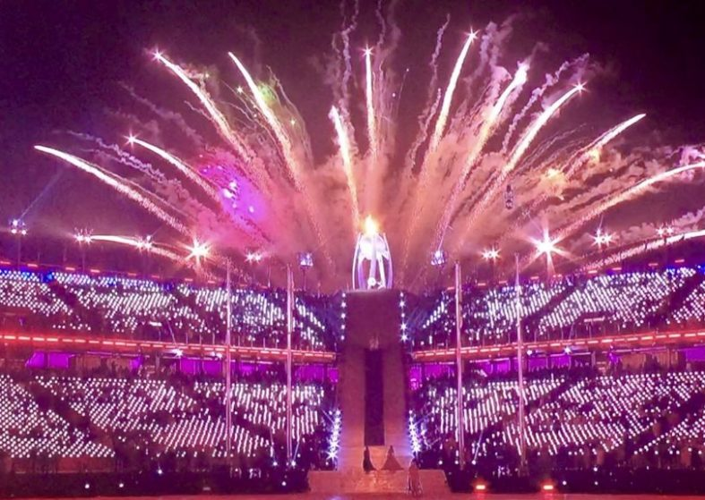 Winter Paralympics 2018: Lighting the Caldron