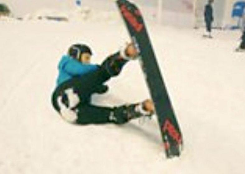 Prosthetic Feet Help Amputees Snowboard