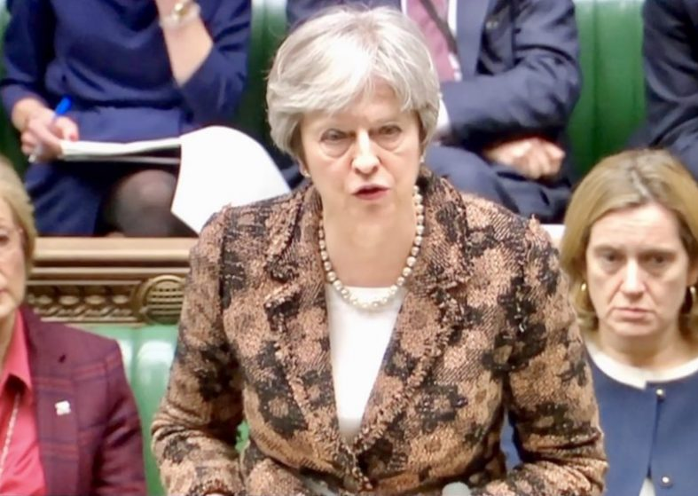 Russian Spy: Theresa May Blames Moscow For Attack