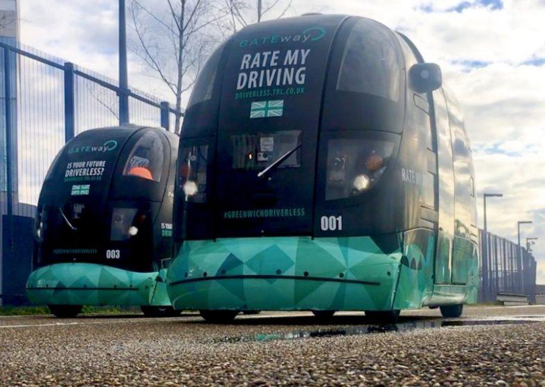 Public Test Driverless Cars In Greenwich