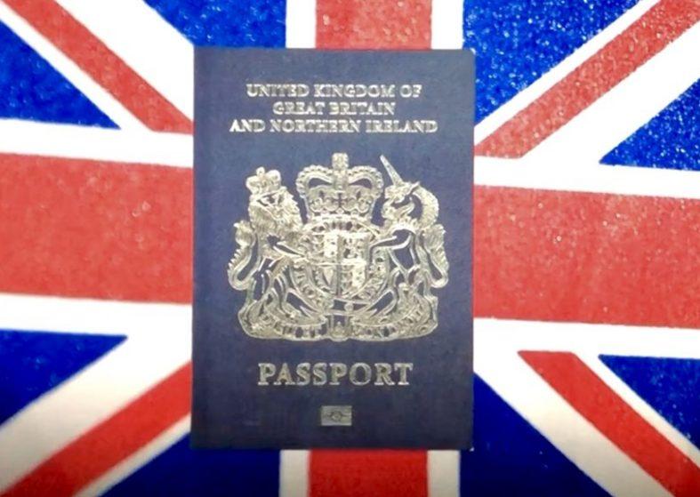 UK Passports: The Blue Belongs To Us