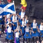 Scotland on parade