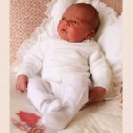 Prince Louis three days old